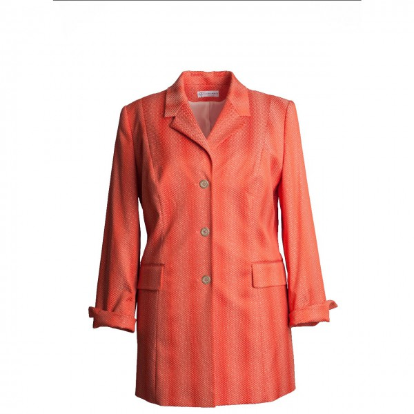 Damenblazer in orange